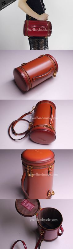Genuine Leather round bag shoulder bag for women leather crossbody bag