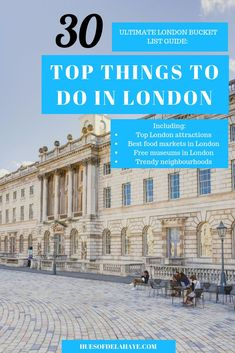Here's my guide to 30 of the best things to do in London, by a local. It offers a blend of touristy and non-touristy London things to do, so you get the best of both. European Vacation, European Destination, European Travel, Europe Travel Guide, Travel Guides, Travel Destinations, Travel Plan, Travel Advice, Things To Do In London