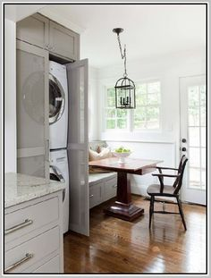 1000 Ideas About Washer Dryer Closet On Pinterest