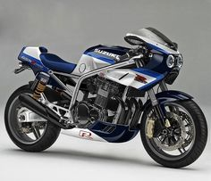 GSX-R1100 remix - RocketGarage - Cafe Racer Magazine