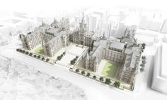 An anonymous donor has pledged to help transform Edinburgh's former Royal Infirmary into a state-of-the-art home for the Edinburgh Futures Institute. The gift is the biggest ever capital donat… Edinburgh University, New View, Art And Architecture, Big Ben, All About Time, How To Plan, Building, Uk News, Awards