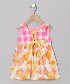 Love this Pink Blossom Dress - Infant & Toddler by Little Weedz on #zulily! #zulilyfinds