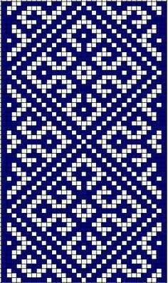 It Was A Work of Craft — moon-bird-of-thunder: Ancient Slavic Symbolism -. Tapestry Crochet Patterns, Fair Isle Knitting Patterns, Bead Loom Patterns, Knitting Charts, Weaving Patterns, Mosaic Patterns, Knitting Stitches, Embroidery Patterns, Cross Stitch Designs