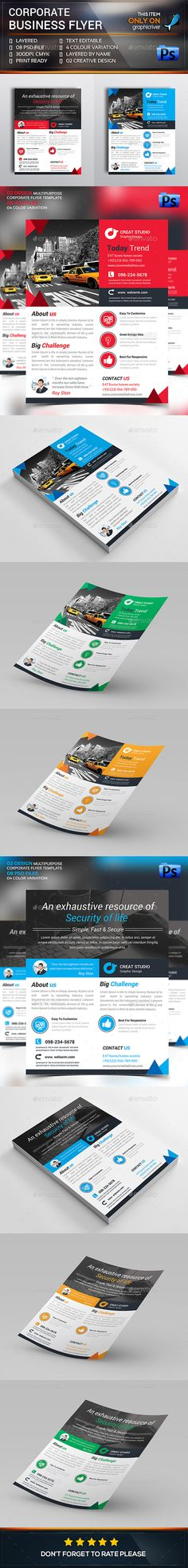Dodi  Clean Corporate Flyers V  Flyers Template And Vs