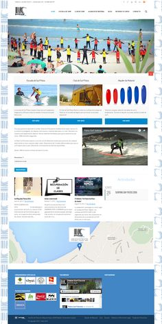 Website da Patos Surf