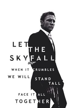 007 skyfall Adele lyrics