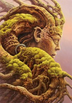 Reclamation by Tomasz Alen Kopera, oil on canvas