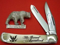 2ND AMENDMENT KNIFE, LIMITED EDITION TRAPPER    HAT PIN INCLUDED         YOU MUST BE AT LEAST 18 YRS OF AGE TO PURCHASE