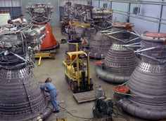F-1 Rocket Engines just like the ones from Apollo 11 that Jeff Bezos is bringing up from 14,000 below sea level at his personal expense, and he can't even keep 'em.