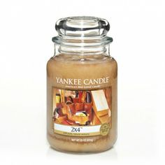 2 X 4™ : Man Candles : Yankee Candle  freshyl planed wood and sawdust