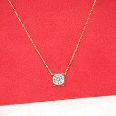 """Cartier """"C de Cartier"""" Diamond Necklace"""