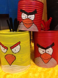 Angry birds Angry Birds, Planter Pots, Tableware, Dinnerware, Tablewares, Dishes, Place Settings