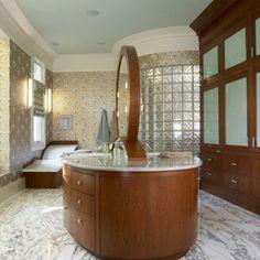 eclectic bathroom by Kelsie Hornby, ASID, Elegant Designs, Inc.