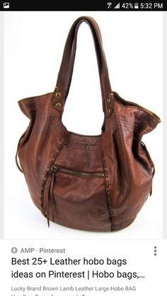 8611e373a24 Bruine Lederen Handtassen, Portemonnees En Handtassen, Hobo Handtassen,  Lederen Tassen, Grote Handtassen