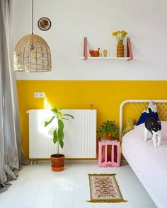 Colours of Summer in the Kid s Room Kinderzimmer Ideen Kinderzimmer Kinderzimmer Wandgestaltung Kinderzimmer einrichten Kids Room Kids Room Decor Bedroom Wall, Kids Bedroom, Room Kids, Kids Room Paint, Bedroom Office, Home Office, Decor Room, Bedroom Decor, Bedroom Ideas