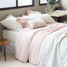 Pink linen bedlinen - Bed Linen - Bedroom | Zara Home United Kingdom