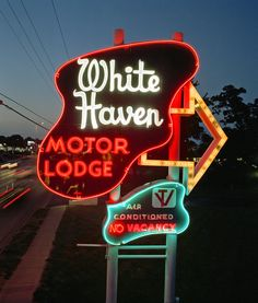 White Haven Motel, Overland Park, KS.....really cool old motel......really hate they tore down this old treasure a few years ago.....