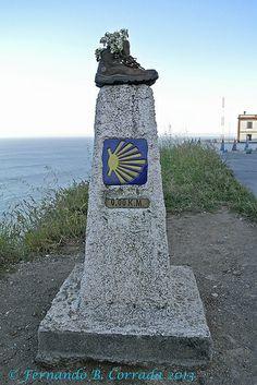 Camino de Santiago KM 0 marker