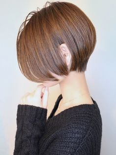 Tomboy Hairstyles, Short Bob Hairstyles, Hairstyles Haircuts, Japanese Short Hair, Japanese Hairstyle, Asian Short Hair, New Hair Do, Hair Day, Short Hair Trends