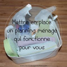 planning ménage