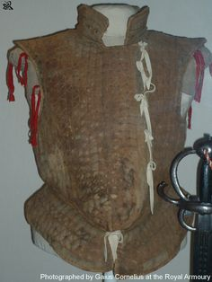 Jack of plates, 16th century of the type used by Border Reivers of the Anglo-Scottish Borders.
