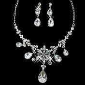 Pretty Alloy Silver Plated With Rhinestone We... – USD $ 9.99