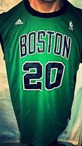 6b1e235c9 Adidas NBA Jersey BOSTON Celtics Ray Allen Green Alternate sz L. Jordan  Black