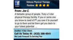 A fantastic group of people. Truly a 5 star physical therapy facility.    If you or some...