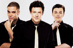 Glee <3 my boys :)