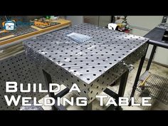 The Ultimate Almost DIY Welding Table - http://www.gottagodoityourself.com/the-ultimate-almost-diy-welding-table/