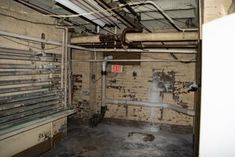 The basement of the Lafayette Hotel during our paranormal investigation where we heard voices Lafayette Hotel, Emergency Lighting, Paranormal, Investigations, Basement, Root Cellar, Study, Basements