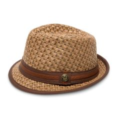 This will be my next addition to my hat collection this month for sure! Eric B Straw Fedora Hat | Goorin Bros. Hat Shop