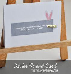 Printable Easter Card [Printable Greeting Cards]