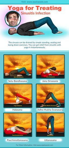 Remedies For Sinus Infection Yoga for Treating Sinusitis Infection-Infographic natural beauty remedies Yoga Girls, Infection Des Sinus, Chest Congestion, Easy Diet Plan, Yoga Photography, Morning Yoga, Yoga Quotes, Natural Cures, Natural Beauty
