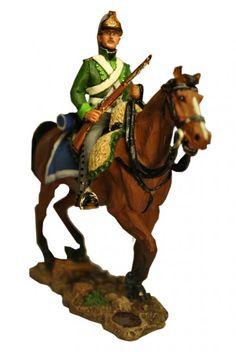 Кавалерист шеволежерского (легко-конного) полка, Бавария 1792 г. Trooper, Bavarian Chavau-Legers, Del Prado Cavalry №33