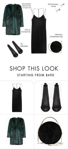 """""""×05×"""" by redheadmadnessss on Polyvore featuring Dion Lee, Yves Saint Laurent, Dries Van Noten and Eddie Borgo"""