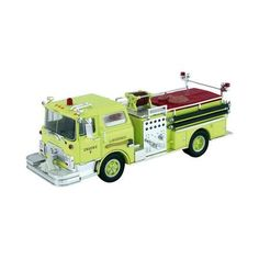 Scalextric Corgi Mack CF Pumper Lawrence Fire Truck