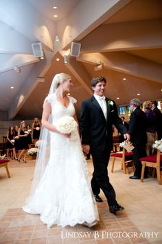 Beautiful bride in an Allure Bridal gown