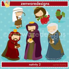 Merry Christmas!!! These cute little icons are ready for  the    merriment of the season - the true meaning of Christmas! Sweet nativity  graphics for   the  perfect   cards, tote bags  and monogramming!