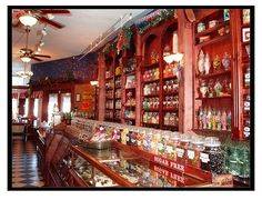 Old-Fashioned Candy Store Displays | candy store!