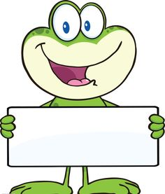 Illustration of Cute Frog Cartoon Mascot Character Holding A Banner Illustration Isolated on white vector art, clipart and stock vectors. Page Borders, Borders And Frames, Frog Theme, Frog Crafts, Cute Frogs, Cute Clipart, Classroom Themes, Illustration, Kindergarten