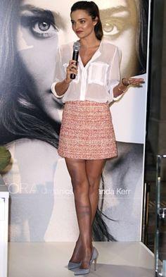 OUTFIT DEL DÍA: Outfit con falda rosa Inspiración