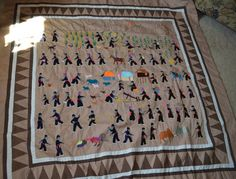 Hmong Story Cloth by CharmingNCherished on Etsy