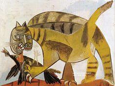 pablo picasso cat - Google Search