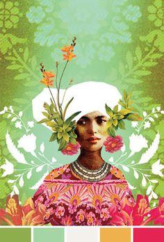 Anahata Katkin's Art Collages