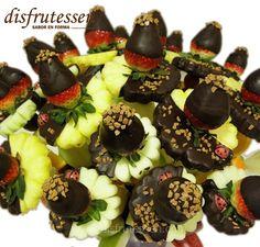 Huesca - Disfrutessen - Ramos de fruta y chocolate