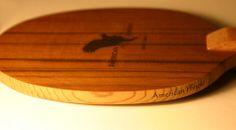 American Hinoki WRC close up Ping Pong Paddles, Balls, Tennis, American, Sports, Beautiful, Branding, Table, Wood