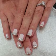 vintage wedding nails - Google Search