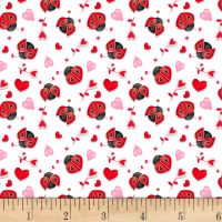 Henry Glass Love Struck Ladybugs & Hearts White/Red from Designed by Shelly Comiskey of Simply Shelly Designs for Henry Glass & Co., this cotton print fabric is perfect for quilting, apparel and home decor accents. Butterfly Crafts, Butterfly Print, Block Of The Month, Quilt Top, Cute Illustration, Cool Wallpaper, Quilting Designs, Cool Things To Make, Red And Pink