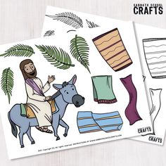 A Praise Parade – Sabbath School Crafts Bible Lessons For Kids, Religious Education, The Donkey, New Crafts, Sabbath, School, Ministry, Sunday, Religion